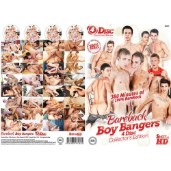 Bareback Boy Bangers 4 Disc Set Vol.1
