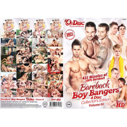 Bareback Boy Bangers 4 Disc Set Vol.2