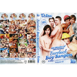 Bareback Boy Bangers 4 Disc Set Vol.3